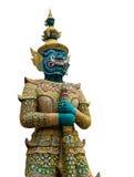 Estatua tailandesa del guarda fotos de archivo libres de regalías