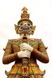 Estatua tailandesa gigante del estilo Fotografía de archivo