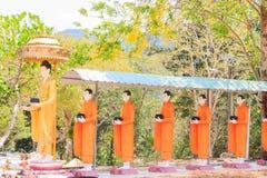 Estatua Tailandia de Buddha Imagenes de archivo