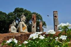 Estatua vieja de Buddha Imagen de archivo