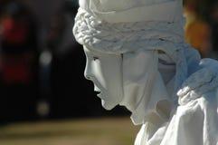 Estatua viva imagenes de archivo