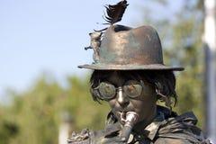 Estatua viva Fotos de archivo libres de regalías