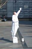 Estatua viva imagen de archivo