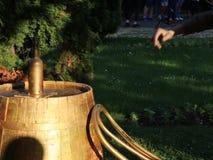 Estatua viva - botella