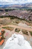 Estatua y Concepción Perú Imágenes de archivo libres de regalías