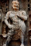 Estatuario budista de los hombres largos fotos de archivo libres de regalías