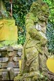 Estatuas antiguas del arte en el templo Fotografía de archivo
