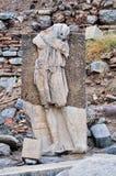 Estatuas antiguas en Ephesus Fotos de archivo