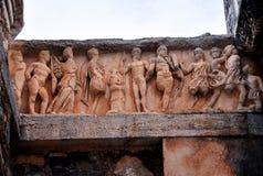 Estatuas antiguas en Ephesus Imagenes de archivo