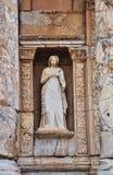 Estatuas antiguas en Ephesus Imágenes de archivo libres de regalías