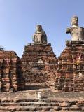 Estatuas arruinadas de Buda Imagen de archivo