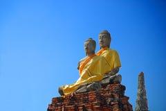 Estatuas budistas imagen de archivo libre de regalías