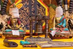 Estatuas budistas Fotografía de archivo