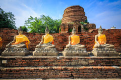 Estatuas budistas Fotos de archivo libres de regalías