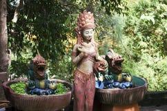 Estatuas budistas Fotografía de archivo libre de regalías
