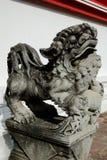 Estatuas chinas de la piedra del león Imágenes de archivo libres de regalías