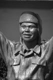 Estatuas de bronce de un saludo nacional a Bob Hope y a los militares Fotografía de archivo
