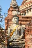 Estatuas de Buda de la sonrisa Fotos de archivo