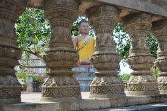 Estatuas de Buda en Phnom Penh, Camboya Fotografía de archivo