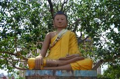 Estatuas de Buda en Phnom Penh, Camboya Fotografía de archivo libre de regalías
