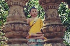 Estatuas de Buda en Phnom Penh, Camboya Fotos de archivo