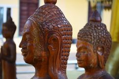 Estatuas de Buda en Phnom Penh, Camboya Fotos de archivo libres de regalías