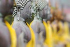 Estatuas de Buda en Seema Malaka Temple, Colombo, Sri Lanka Foco selectivo fotos de archivo libres de regalías