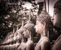Estatuas de Buda en Tailandia fotos de archivo