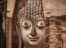 Estatuas de Buda, Wat Si Chum, Tailandia fotografía de archivo