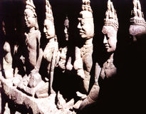 Estatuas de Buddah Fotos de archivo