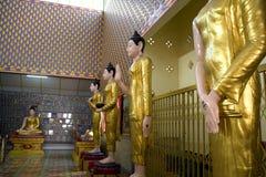 Estatuas de Buddha Imagen de archivo