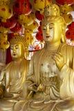 Estatuas de Buddha fotografía de archivo
