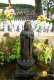 Estatuas de Buddist de la piedra del templo de Hase-dera imagen de archivo libre de regalías