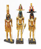 estatuas de dioses Imágenes de archivo libres de regalías