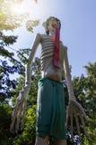 Estatuas de fantasmas Imagen de archivo libre de regalías