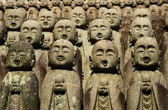 Estatuas de Jizo Imágenes de archivo libres de regalías