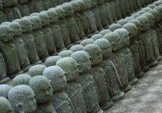 Estatuas de Jizo Foto de archivo