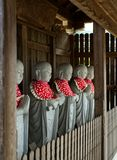 Estatuas de Jizo en Jobonji, retrato de Otsu, Japón imágenes de archivo libres de regalías