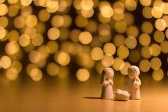 Estatuas de José y de Maria imagen de archivo libre de regalías