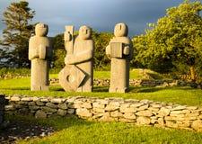 Estatuas de Kenmare imagen de archivo libre de regalías