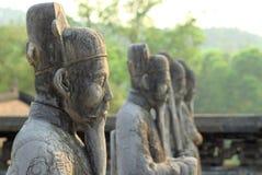 Estatuas de Khai Dinh Mausoleum Fotografía de archivo libre de regalías