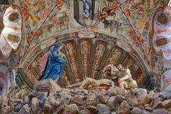 Estatuas de la capilla de Atotonilco imagen de archivo libre de regalías
