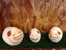Estatuas de las ovejas Foto de archivo