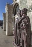 Estatuas de las reglas romanas fotografía de archivo