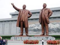 Estatuas de líderes Imagen de archivo libre de regalías