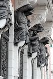 Estatuas de los hombres foto de archivo libre de regalías