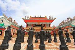 Estatuas de los monjes de Shaolin del chino Fotografía de archivo libre de regalías