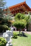 Estatuas de los pequeños monjes @ Nan Tien Temple - Australia fotografía de archivo
