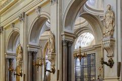 Estatuas de los santos - Palermo imagen de archivo libre de regalías