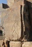 Estatuas de Memnon fotografía de archivo libre de regalías